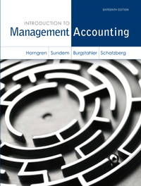 image of Introduction to Management Accounting (Myaccountinglab)