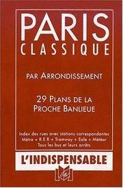 R17 Plan de Paris classique par arrondissement (Plan indica cartes paris ban) [Paperback] Atlas...