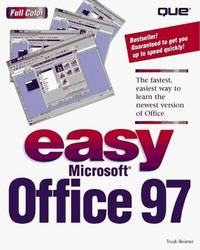 Easy Microsoft Office 97 (Que's Easy Series)