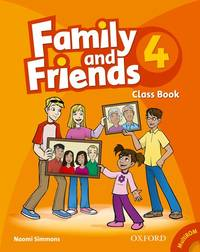Family and Friends 4: Classbook and Multi-ROM Pack (French Edition)