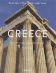 image of Greece: From Mycenae to the Parthenon (Taschen's World Architecture)