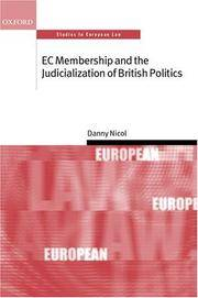 E C Membership and the Judicialization of British Politics ( S.E.L. )