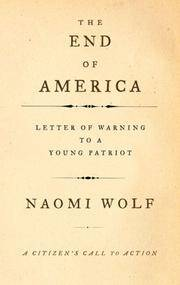 The End of America: Letter of Warning to a Young Patriot, a Citizen's Call to Action