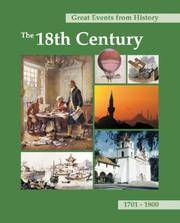 image of Great Events from History: The 18th Century: Print Purchase Includes Free Online Access