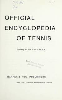 image of Official encyclopedia of Tennis