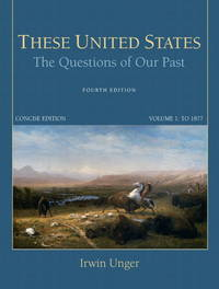 These United States the Questions Of Our Past