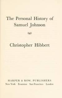 The Personal History Of Samuel Johnson