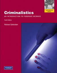 image of Criminalistics: An Introduction to Forensic Science: International Edition
