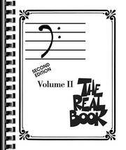 image of The Real Book - Volume 2: Bass Clef Edition