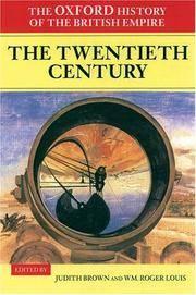 image of Oxford History of the British Empire: Volume IV: The Twentie