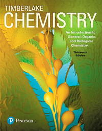 image of Chemistry: An Introduction to General, Organic, and Biological Chemistry Plus Mastering Chemistry with Pearson eText -- Access Card Package (13th Edition)