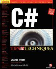 C# Programming Tips & Techniques