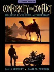 image of Conformity and Conflict: Readings in Cultural Anthropology (11th Edition)