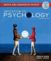 Invitation to Psychology: Media and Research Update