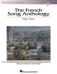 French Song Anthology: The Vocal Library, High Voice