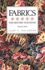 Fabrics for Historic Buildings: A Guide to Selecting Reproduction Fabrics
