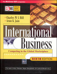 International Business (SIE) by Charles W. L. Hill - Paperback - 2008-08-11 - from Books Express and Biblio.co.uk