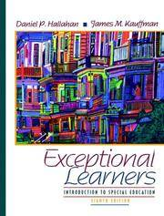 Exceptional Learners: Introduction to Special Education (8th Edition)