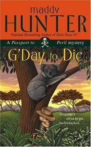 G'Day to Die: A Passport to Peril Mystery