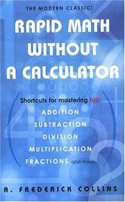 Rapid Math Without A Calculator