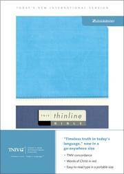TNIV Thinline Bible (Today's New International Version)