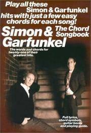 image of Simon_Garfunkel: The Chord Song Book (Paul Simon/Simon_Garfunkel)