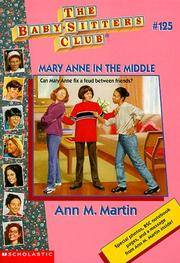 image of Mary Anne In The Middle (Baby-Sitters Club)