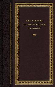 Library of Distinctive Sermons 1 (Distinctive Sermons Library) by  Gary W. [Editor] Questar; Klingsporn - Hardcover - 1996-02-08 - from JMSolutions (SKU: sA-41-xxx160224020)