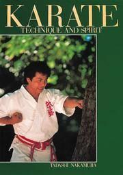 Karate: Technique and Spirit
