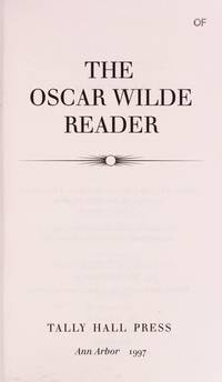 The Oscar Wilde Reader
