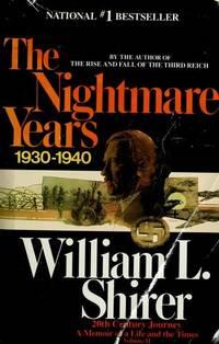 NIGHTMARE YEARS, THE (Twentieth Century Journey, Vol 2)