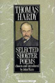 image of Selected Shorter Poems