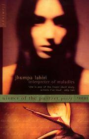 INTERPRETER OF MALADIES by Lahiri Jhumpa - Paperback - Reprint - 1999 - from Military Bookshop (SKU: 007733)