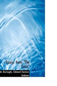 image of Essays from 'The Critic