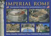 Rome  : Transparent Overlay Of Archeological Sites with the Vatican, Hadrian's Villa And Pompeii