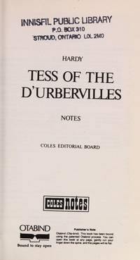 image of Tess of the D'Urbervilles/Notes