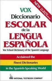 image of Vox Diccionario Escolar De La Lengua Espanola