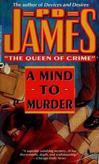 A Mind to Murder (Adam Dalgliesh Mystery Series #2)