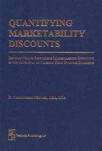 Quantifying Marketability Discounts
