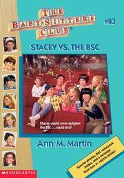 image of Stacey Vs. The BSC (The Baby-Sitters Club)