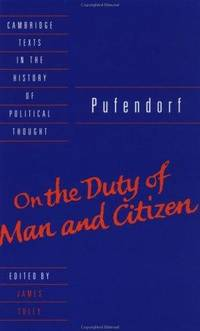 Pufendorf: On Duty of Man and Citizen According to Natural Law