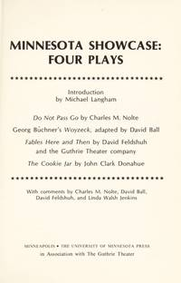 Minnesota Showcase Four Plays (Minnesota Drama Editions, No 9)