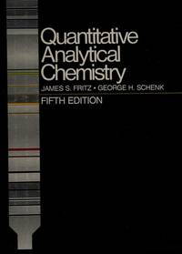 Quantitative Analytical Chemistry