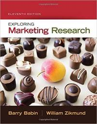 Exploring Marketing Research (Text Only)