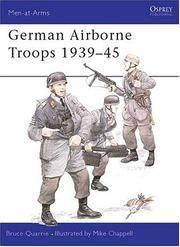 GERMAN AIRBORNE TROOPS 1939-45 (MEN-AT-ARMS)