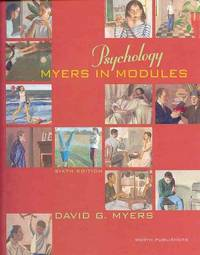 image of Psychology: Myers in Modules