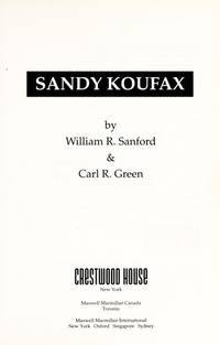 Sandy Koufax (Sports Immortals)