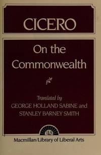 image of Cicero: On the Commonwealth