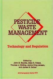 Allan S. Felsot,American Chemical Society Division of Agrochemicals,John B. Bourke,N.Y.) American...