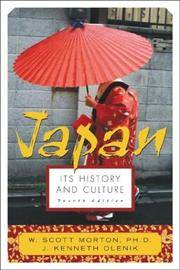 image of Japan: It's History and Culture